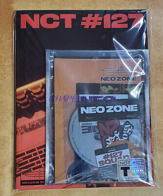 NCT 127 2nd ALBUM NCT #127 Neo Zone T VER. CD + PHOTOCARD + CIRCLE CARD + POSTER