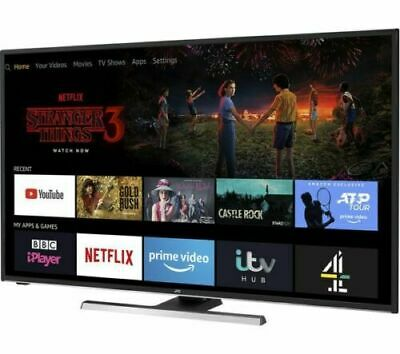 "JVC LT-55CF890 Fire TV 55"" Smart 4K Ultra HD HDR LED TV & Built-in Amazon Alexa"