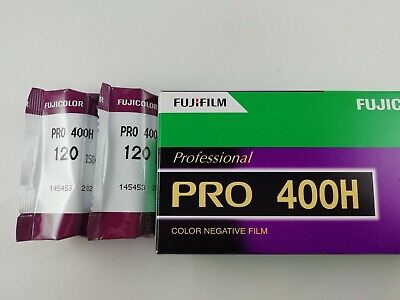 "[2ROLL ""NEW""]  Fuji PRO 400H 120 Medium Format Color Print Film FROM JAPAN 434"