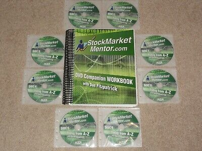 Dan Fitzpatrick Stock Market Mentor Trading From A-Z 8 DVD & Book 4 DAY TRADERS
