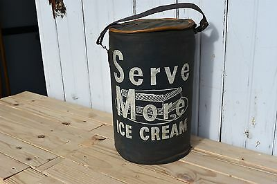 Serve More Canvas Ice Cream Cooler Fond Du Lac Wisconsin Home Delivery Container