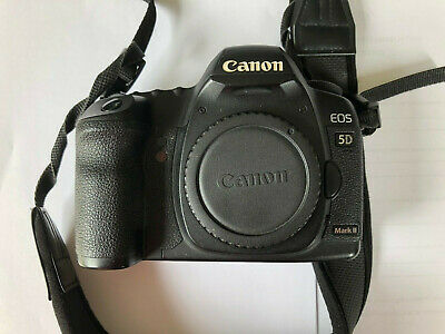 Canon EOS 5D Mark II 21.1MP Digital SLR Camera - Black (Body Only) No Battery