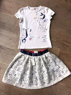Catimini Skirt & Top Set Age 14 New With Tags Also Selling Oilily