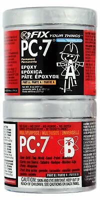 PC Products PC-7 Epoxy Adhesive Paste, Two-Part Heavy Duty, 1/2lb in Two Cans, C