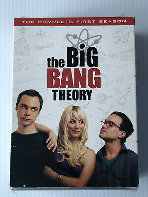 The Big Bang Theory The Complete First Season 1   ( Dvd )