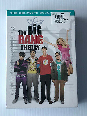 The Big Bang Theory The Complete First Season 2   ( Dvd , Brand New )