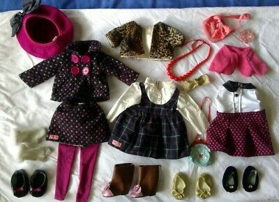 """Our Generation doll clothes & accessories, fits American Girl doll 18"""" bulk lot"""