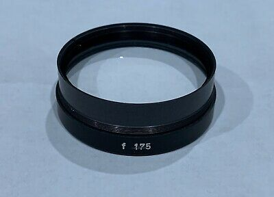 Carl Zeiss 175mm Surgical OPMI Microscope Objective Lens 48mm Thread