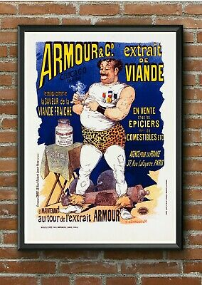 Art Deco French Motorcycle Poster Favor 1930s Advertising Vintage Triumph BSA