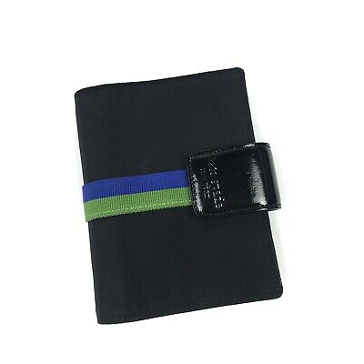 Kate Spade Nylon Pocket Agenda Planner Black Binder Only