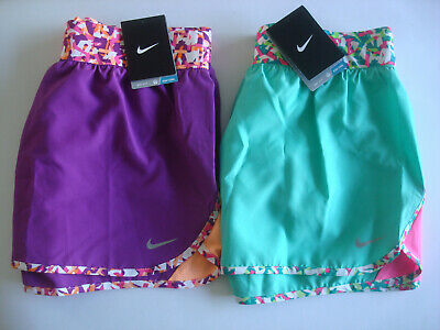 NIKE GIRLS SHORTS - XL / 13-15 Years - Dri-Fit - Integrated Lining - BRAND NEW