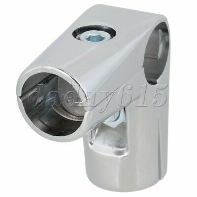 3 Way Drying Pipe Fitting L Shape Connector L68xOD30mm for Rack Shelves