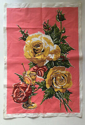 Original Vintage Tea Towel 1960s