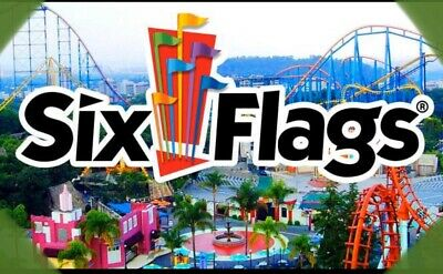✅ SIX FLAGS All 6 Flags Nation Wide TICKETS Super PROMO DISCOUNT Tool