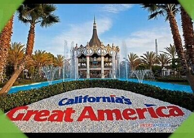 ✅ CALIFORNIA Great America Theme Park Tix Super Saver Promo Tool Cheap Tickets