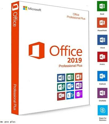 Microsoft Office Professional Plus 2019 🔑Licence Key Product- ⚡ Fast Delivery⚡