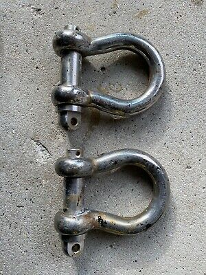 Petersen Shackles Stainless 5.5t