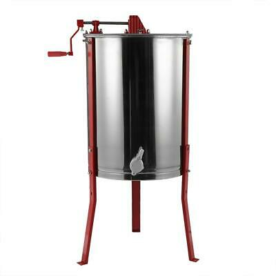 Beekeeping Stainless Steel Honey Extractor Centrifugal Manual 4 Frame Easibee