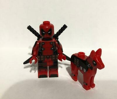 Deadpool and Dog For Lego Action Figure