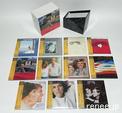 1998 CARPENTERS / JAPAN Mini LP CD x 11 titles + PROMO BOX Set!!