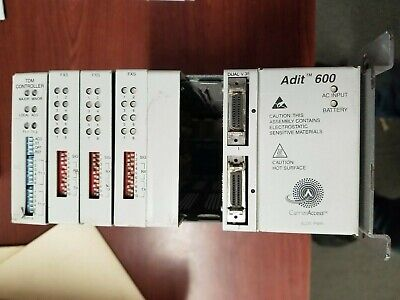 CARRIER ACCESS ADIT 600 TDM CONTROLLER UNIT with 3 FXS CARDS
