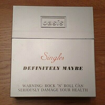 OASIS SINGLES BOX SETS. Definitely Maybe & Morning Glory - limited edition sets.