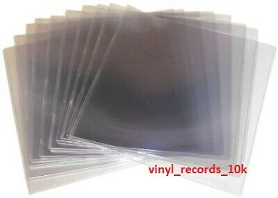 100pcs Outer vinyl record plastic sleeves cover 12 LP (100 pieces) clear plastic