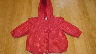 Baby Girls Winter Coat From Next Aged 6-9 Months