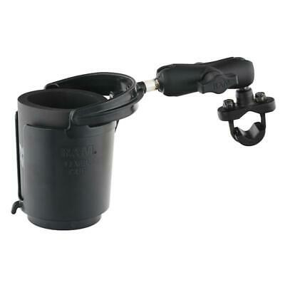 RAM Level Cup 16oz Drink Holder with Handlebar U-Bolt Base