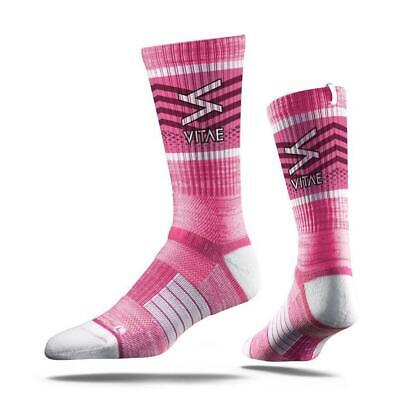 Vitae Soul Strapped Fit Pink Adult Motorcycle Riding Socks