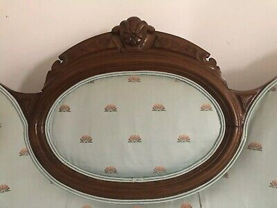 ANTIQUE Victorian Carved Sofa Settee