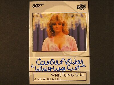 James Bond Collection 2019 Autograph Card A-BY Carole Ashby as Whistling Girl