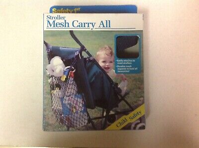 Safety First Baby Stroller Hanging Mesh Carry Bag
