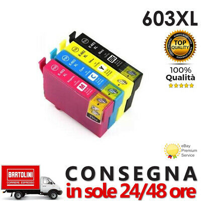 Cartucce compatibili 603XL EPSON WorkForce WF2810 WF2830 WF2835 WF2850