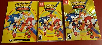 *Complete* Sonic Mania Plus Launch Edition Nintendo Switch