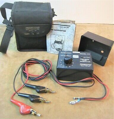 Progressive Electronics Model No.177 Precision Tone Generator No Battery