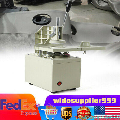300W Electric Curtain Eyelet Punch Machine Punching Equipment Blade 40mm