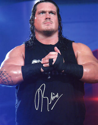 RHINO Signed 10x8 Photo WWE WRESTLING Champion  COA