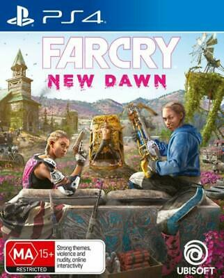 Brand New Far Cry New Dawn For Ps4 Sony Playstation 4 Original Aus Version
