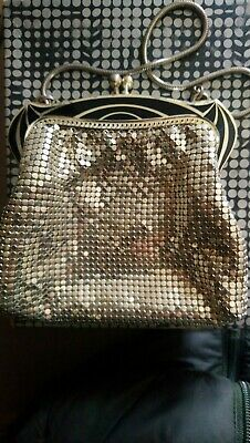Vintage House Of Mesh Sterling Purse In Box