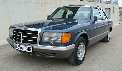 MERCEDES-BENZ 280 SE W126 AUTOMATICO 1986 - 2.8 156cv - ESTADO IMPECABLE