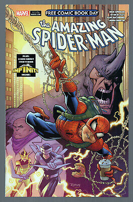 Free Comic Book Day 2018 (Amazing Spider-Man/Guardians Of The Galaxy) #1 Fcbd