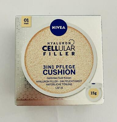 NIVEA Hyaluron CELLular 3in1 Pflege Cushion 15ml - Make-Up LSF15 01 Hell