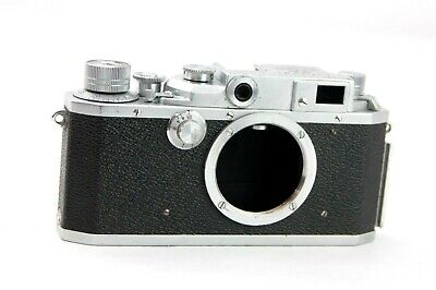 Canon II-F  35mm rangefinder camera BODY, working, (see other listings Leitz)