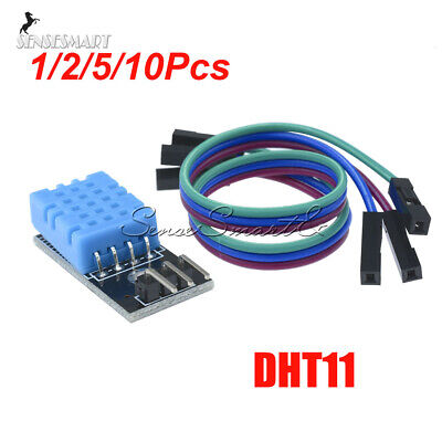 1//2//5//10Pcs DHT11 DHT-11 Digital Temperature and Humidity Sensor For Arduino