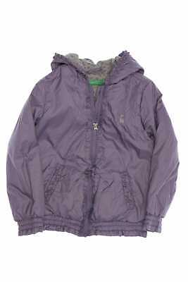 UNITED COLORS OF BENETTON Jacke mit Rüschen D 110 lila Kinderjacke Steppweste