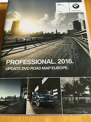 BMW professional update DVD road map Europe 3 discs 2016