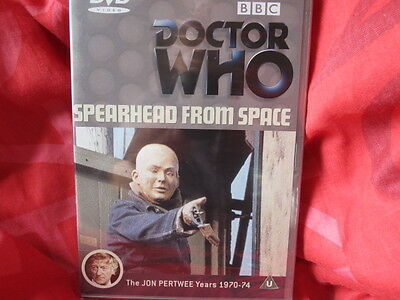 DOCTOR WHO: SPEARHEAD FROM SPACE - BBC TV Rare 1 disc FACTORY SEALED BRAND  NEW