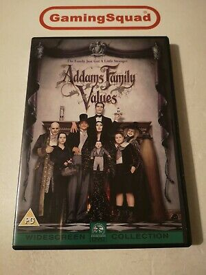 Addams Family Values DVD, Supplied by Gaming Squad