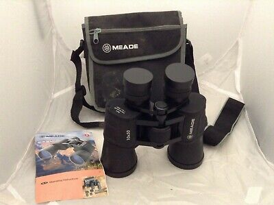 MEADE Top Quality Binoculars Fully Coated Objective Lens-LE Eyepiece-10 x 50